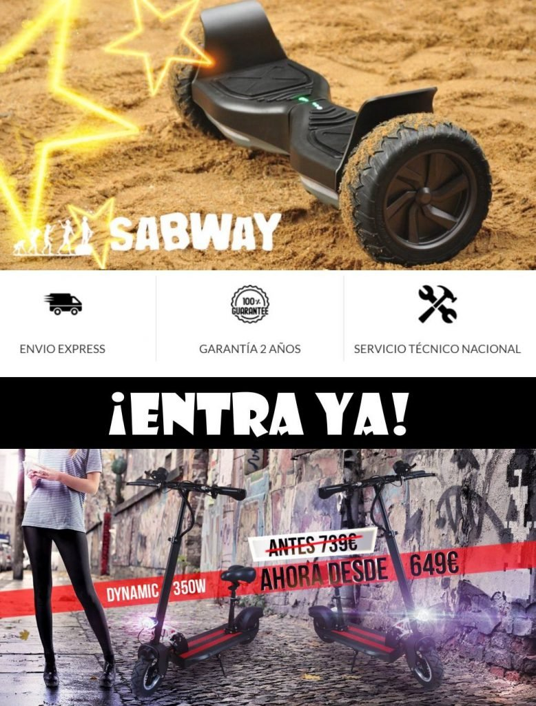 Patinetes y Hoverboard Sabway